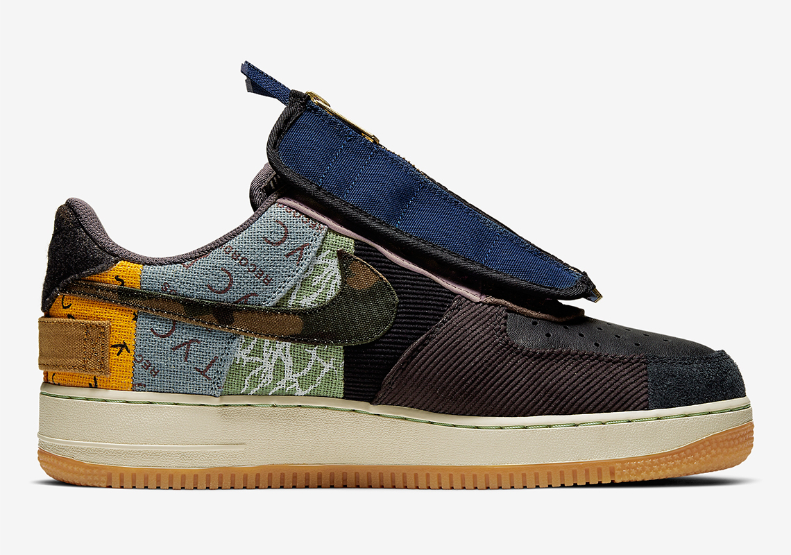 Travis Scott x Nike Air Force 1 Low ''Fossil''