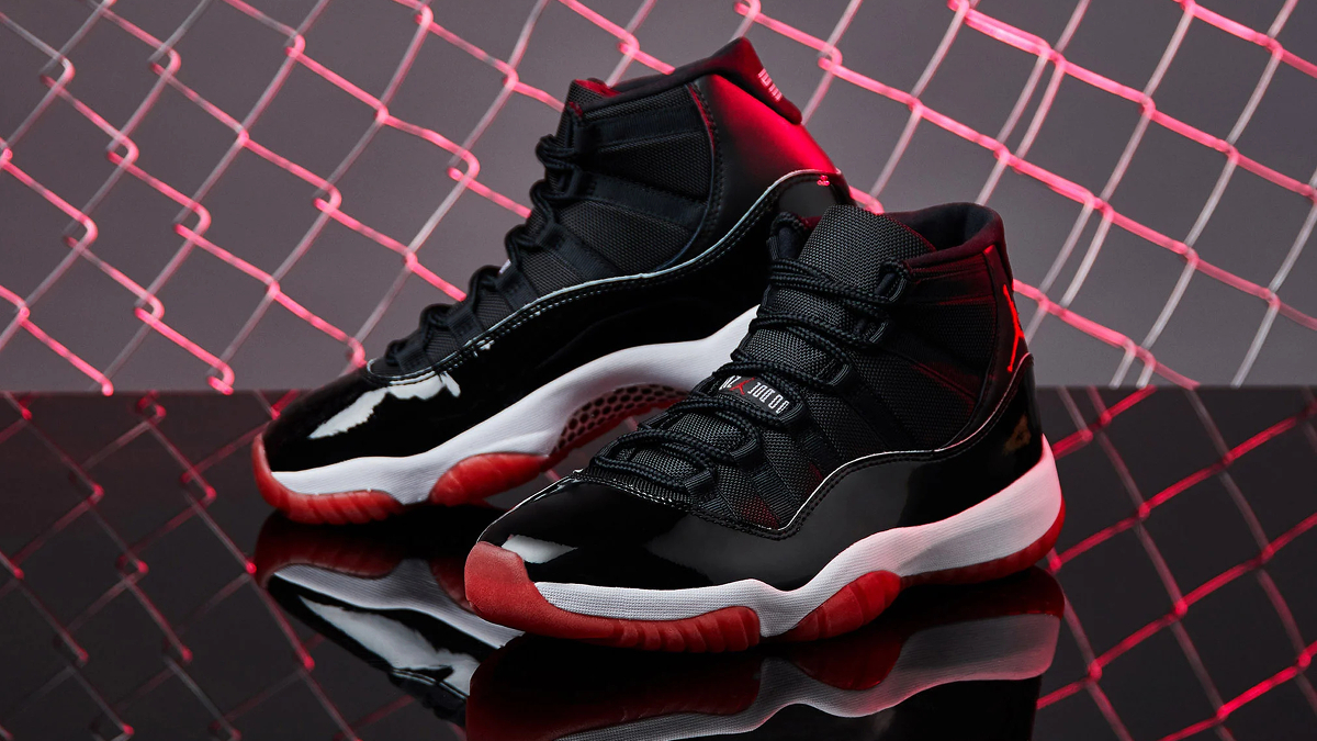 air jordan 11 noir et rouge