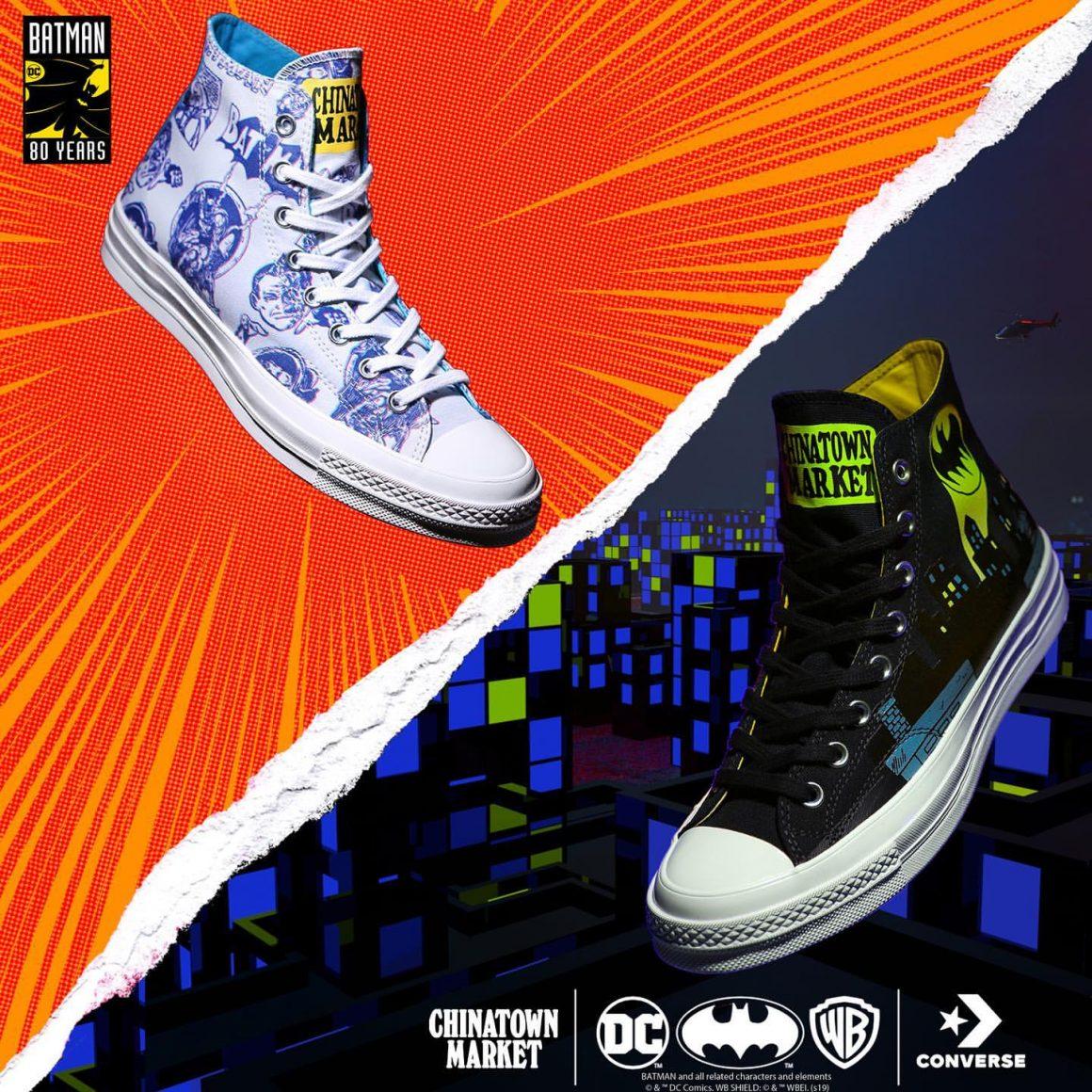 Chinatown Market x Batman x Converse Chuck 70s Hi