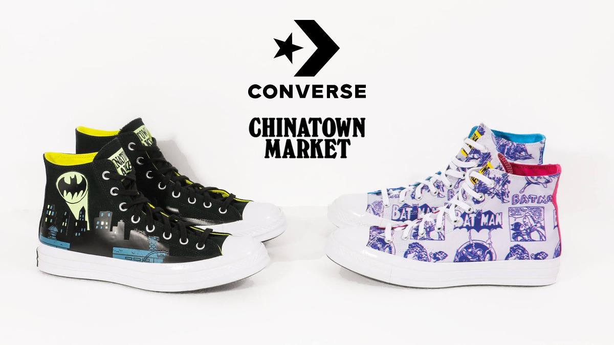 Chinatown Market x Batman x Converse Chuck 70s Hi Sneaker