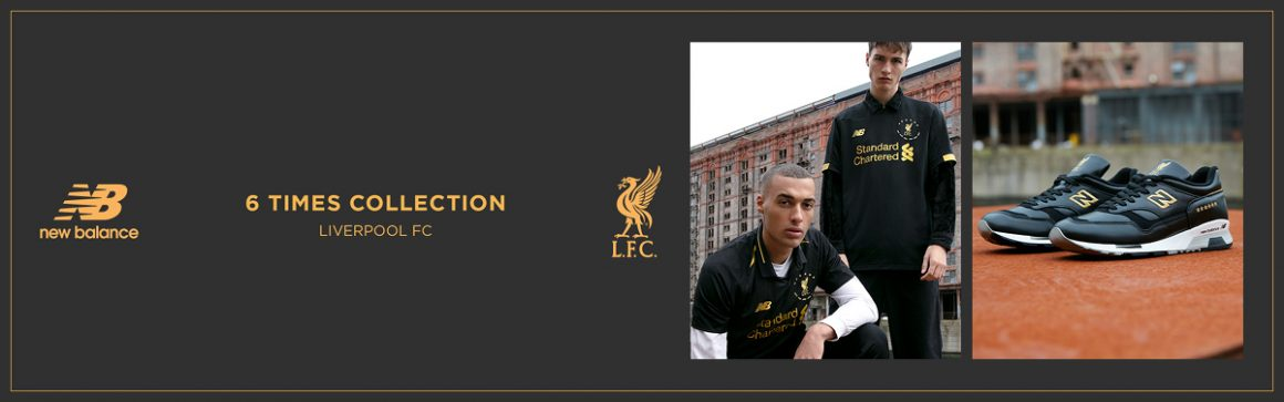 Liverpool FC x New Balance ''6 Times'' Collection