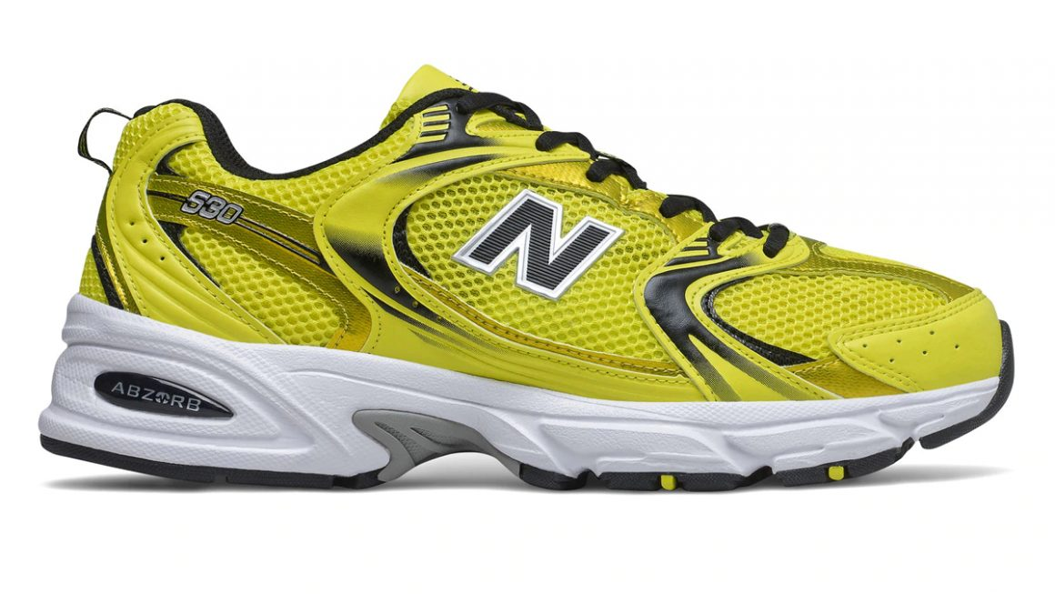 New Balance MR 530 - Sulphur Yellow with Black
