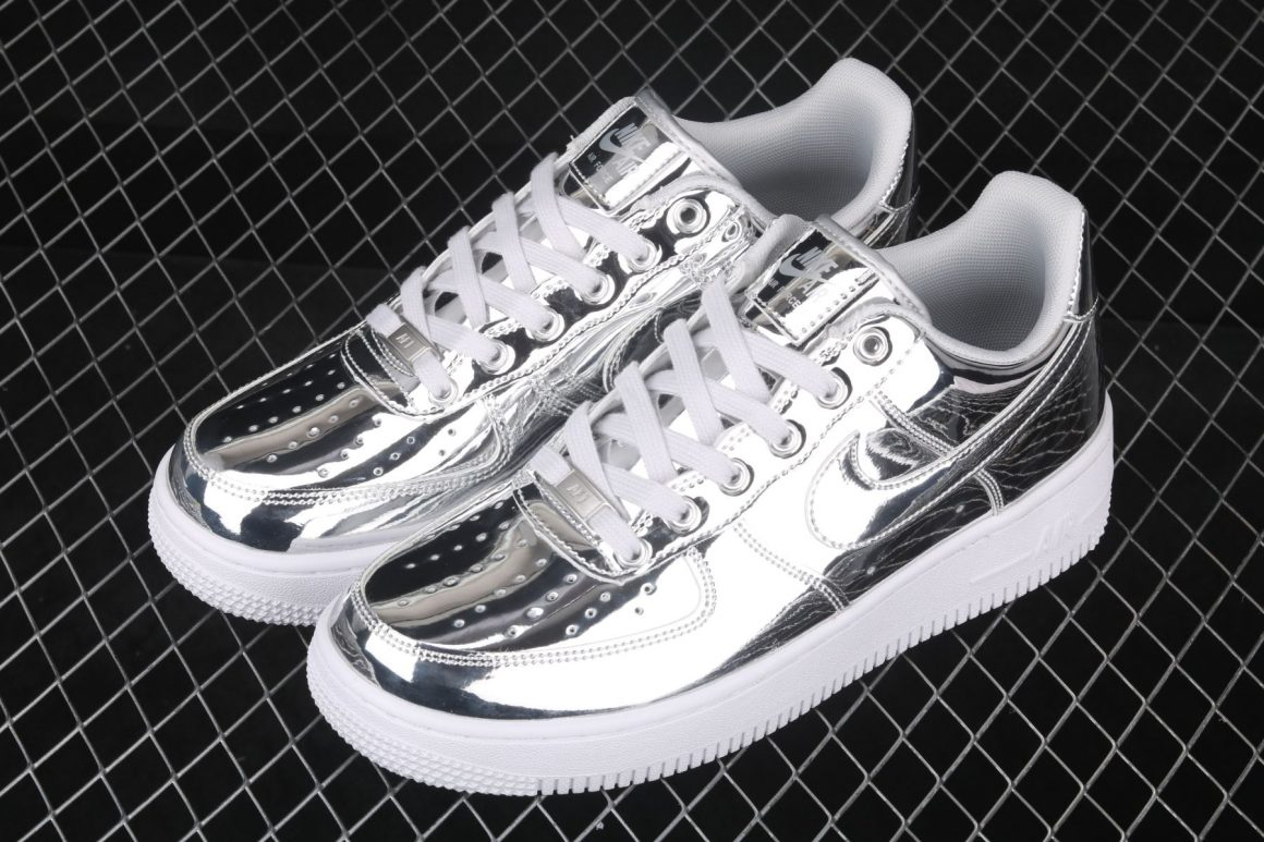 Nike WMNS Air Force 1 Low SP ''Metallic Silver''