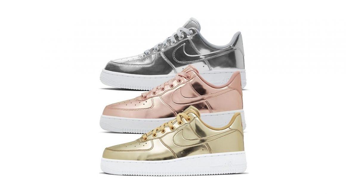Nike WMNS Air Force 1 Low SP ''Liquid Metal'' Pack