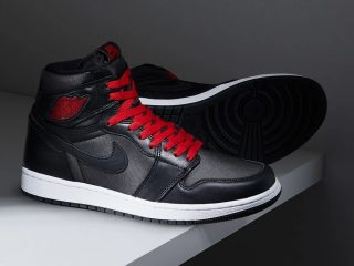 Air Jordan1 Retro High OG ''Black Satin''