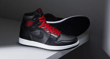 Air Jordan1 Retro High OG ''Black Satin''