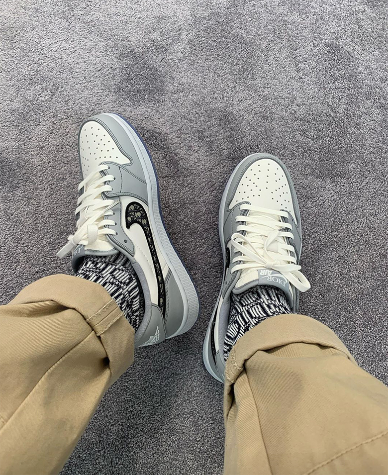 Dior x Air Jordan 1 Retro Low