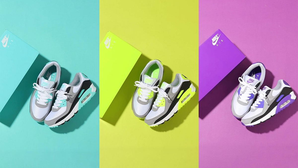 Nike Air Max 90 OG ''30th Anniversary'' Pack Sneaker Style