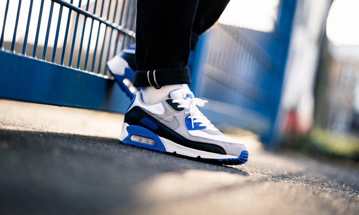 Nike Air Max 90 OG ''Hyper Royal'' - CD0881-102 - Sneaker Style