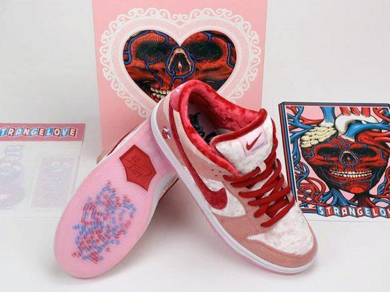 StrangeLove x Nike SB Dunk Low Pro QS