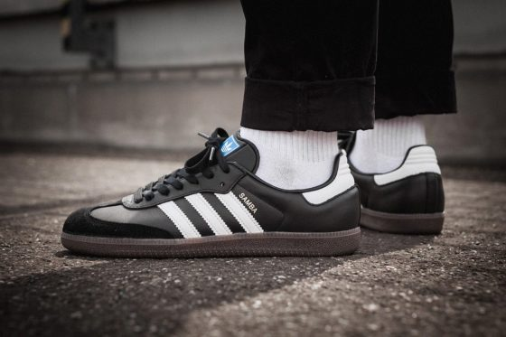 adidas Samba - On feet