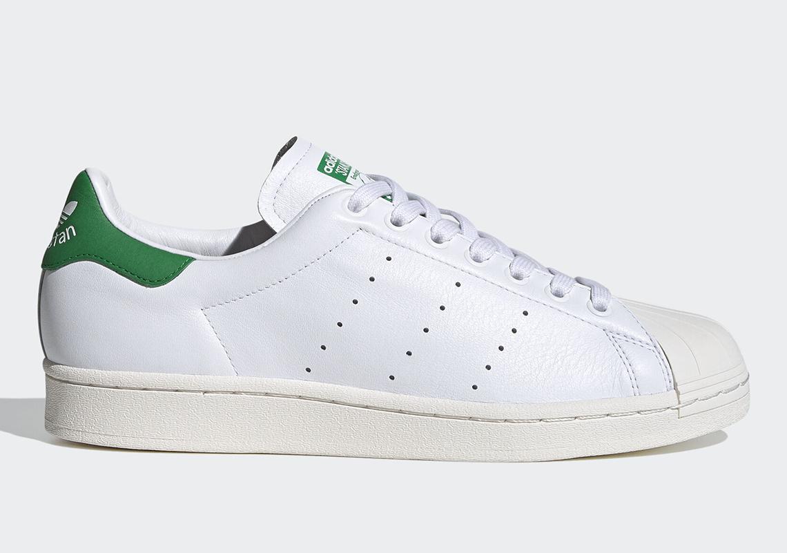 adidas Superstan OG ''Cloud White/Green'' - FW9328