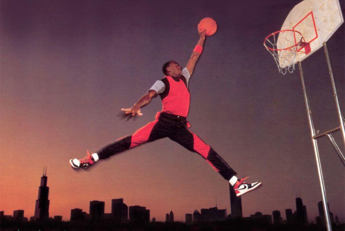 Publicité originale de Nike pour la collection Air Jordan
