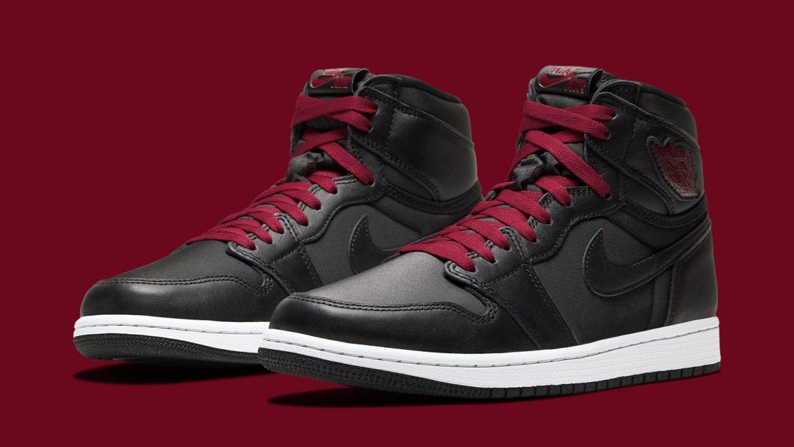 Air Jordan 1 Retro High OG ''Black Satin''