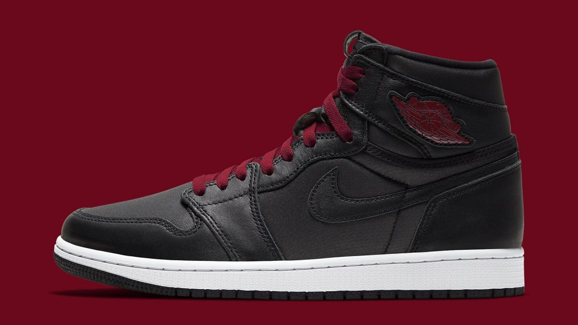Air Jordan 1 Retro High OG ''Black Satin''