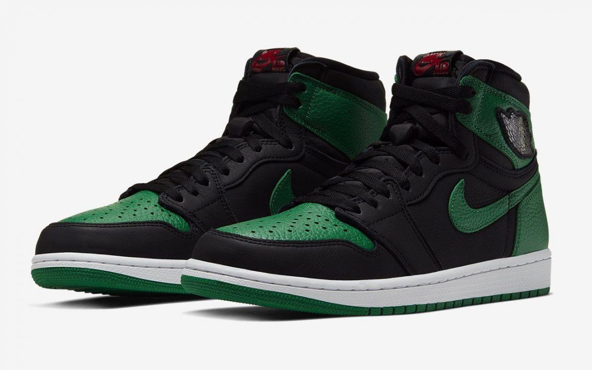 Air Jordan 1 Retro High OG ''Pine Green'' - Sneaker Style