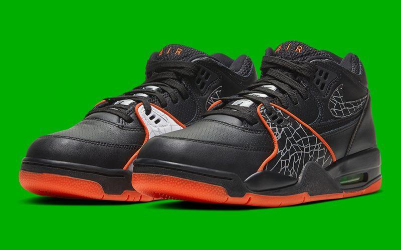 Nike Air Flight 89 QS ''All Star'' - Black/Orange Blaze