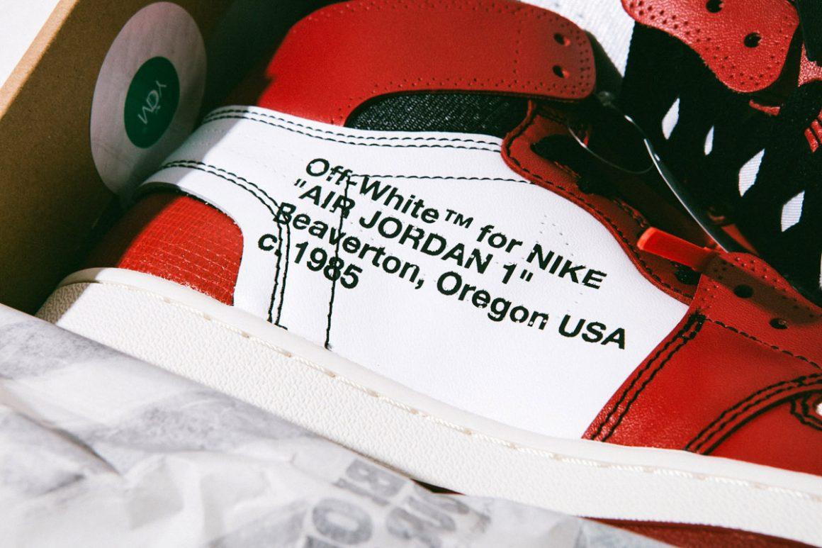 Off-White x Air Jordan 1 ''Chicago'' - Virgil Abloh