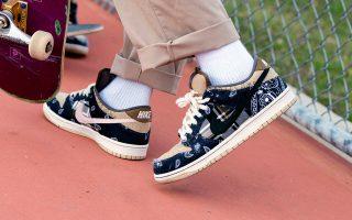 ravis Scott x Nike SB Dunk Low