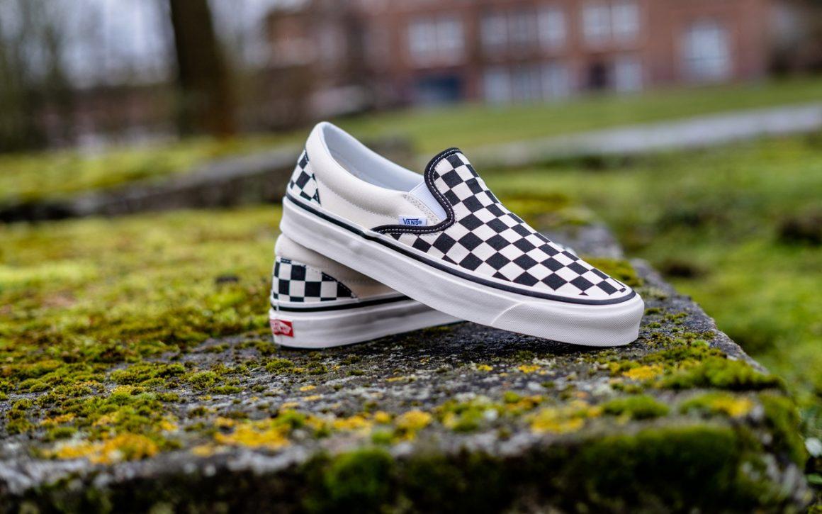 Vans Slip-On : à l'origine du damier - Sneaker Style