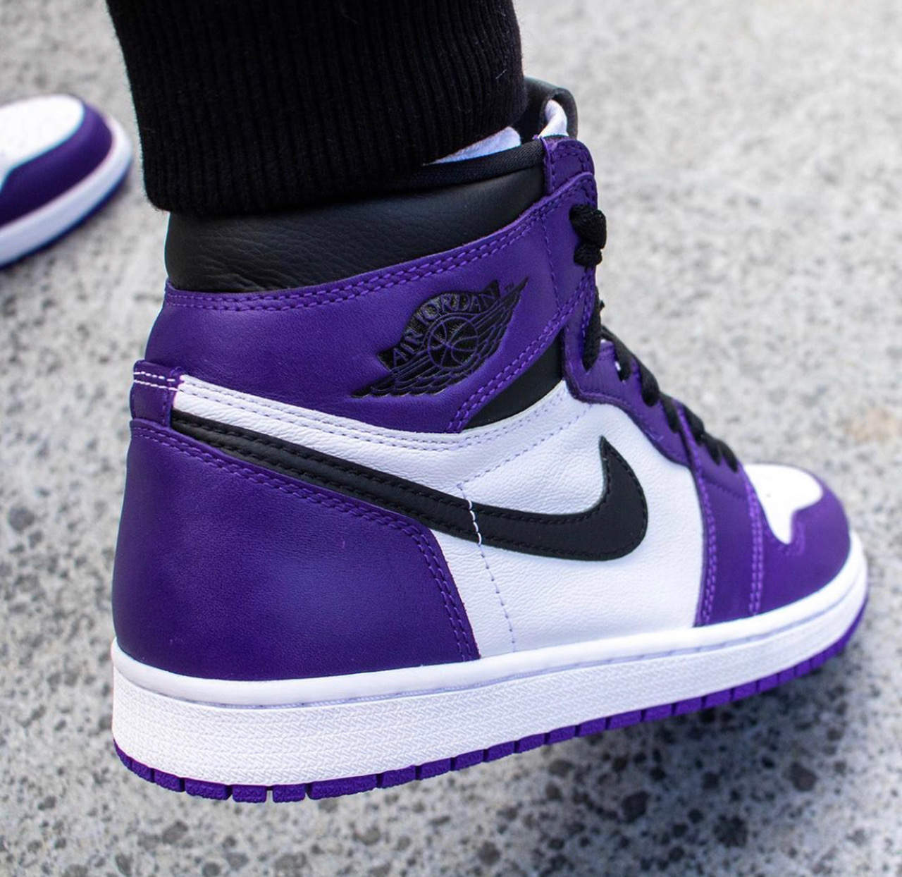 air jordan 1 violette