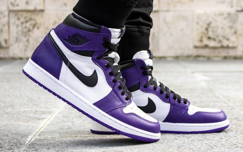 Air Jordan 1 Retro High OG ''Court Purple''