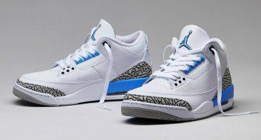 """Air Jordan3 """"UNC"""""""