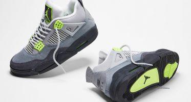 Air Jordan4 Retro ''Neon''