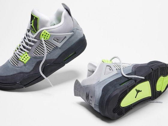 Air Jordan 4 Retro ''Neon'' - CT5342-007