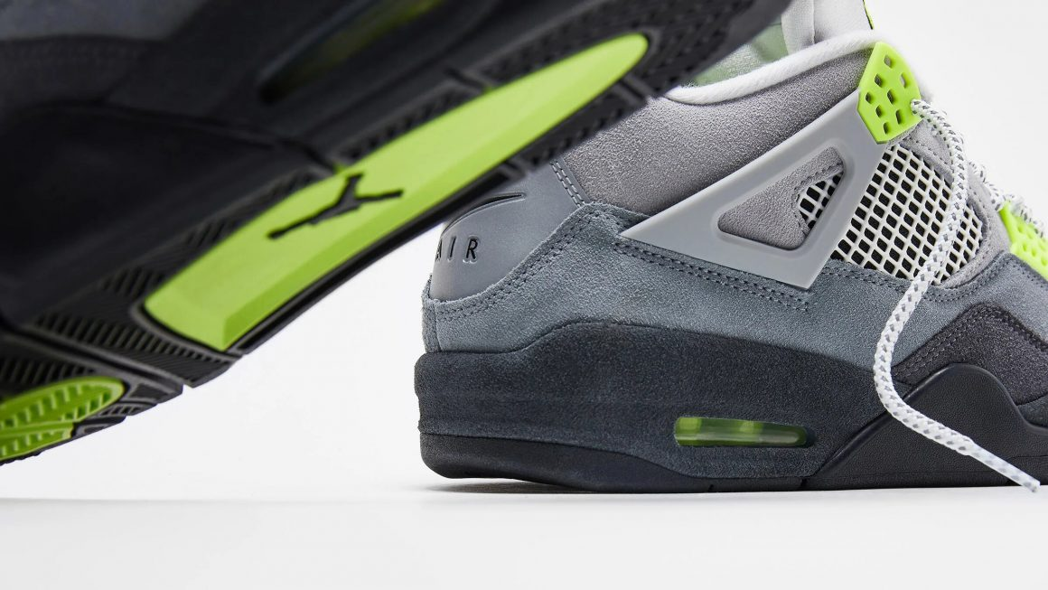 Air Jordan 4 Retro ''Neon'' - CT5342-007