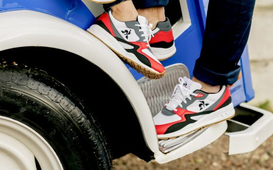 Le Coq Sportif LCS R800 ''Pure Red''