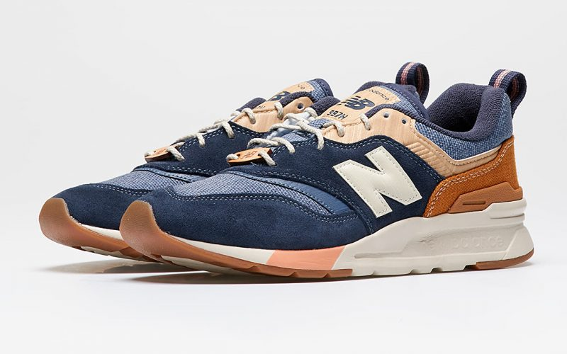 New Balance 997H ''Spring Hike'' - Navy with Workwear & White
