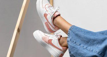 NikeAir Force 1 ''Shadow'' ''Summit White/Pink Quartz''