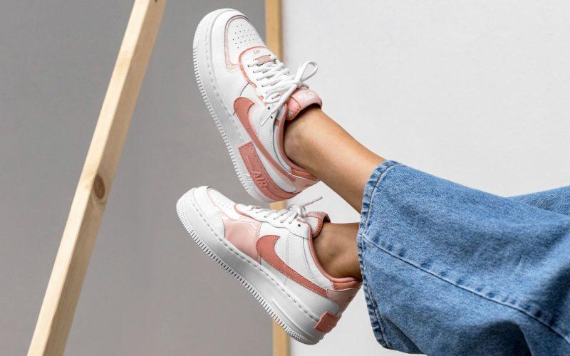 Nike Air Force 1 ''Shadow'' ''Summit White/Pink Quartz'' - CJ1641-101