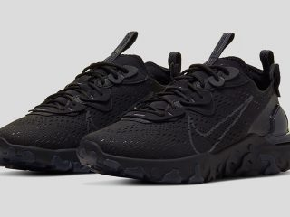 NikeReact Vision ''Triple Black''
