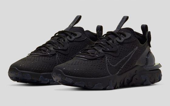 Nike React Vision ''Triple Black'' - CD4373-004