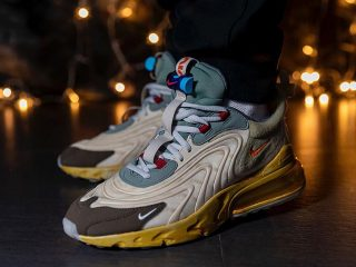 Travis ScottNike Air Max 270 React ''Cactus Trails''