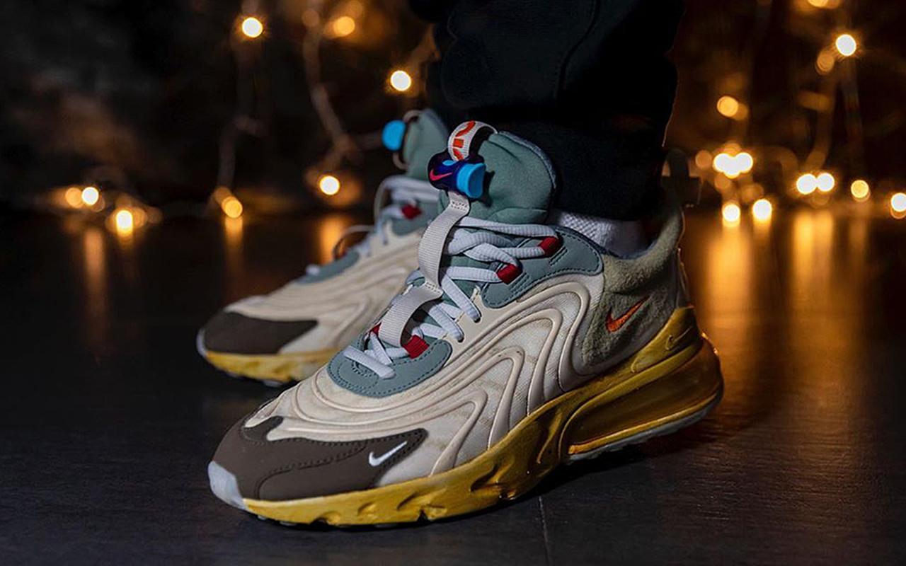 Travis Scott x Nike Air Max 270 React Sneaker Style