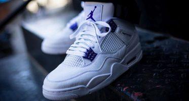 Air Jordan4 ''Metallic Purple''