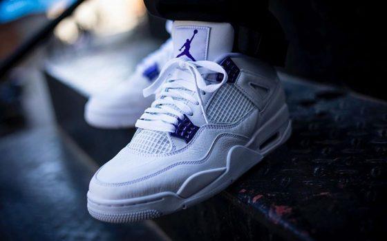 Air Jordan 4 ''Court Purple'' - Metallic Pack - CT8527-115