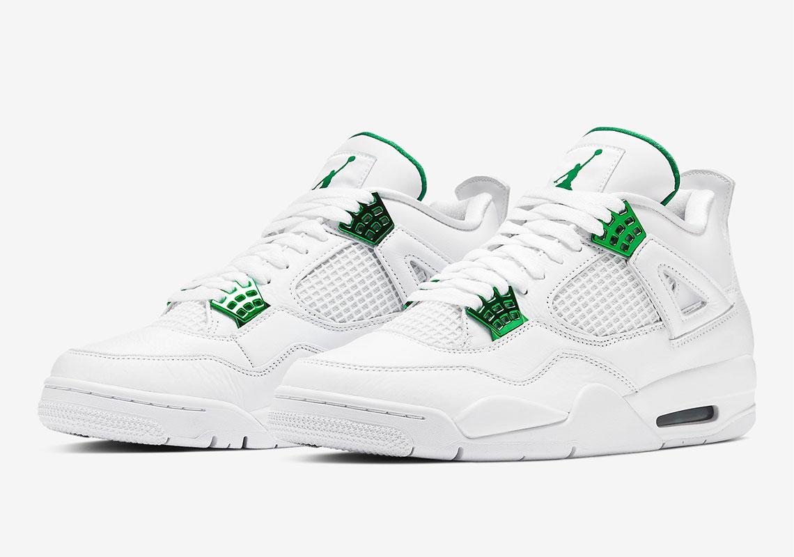 Air Jordan 4 ''Metallic Green'' - CT8527-113