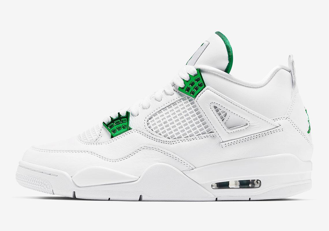 Air Jordan 4 ''Metallic Green