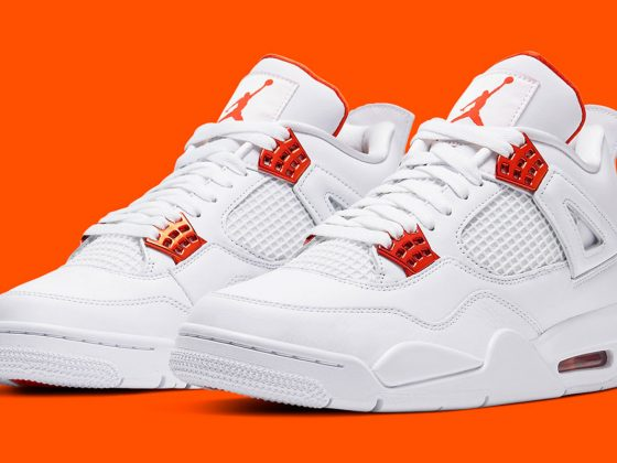 Air Jordan 4 ''Metallic Orange'' - CT8527-118