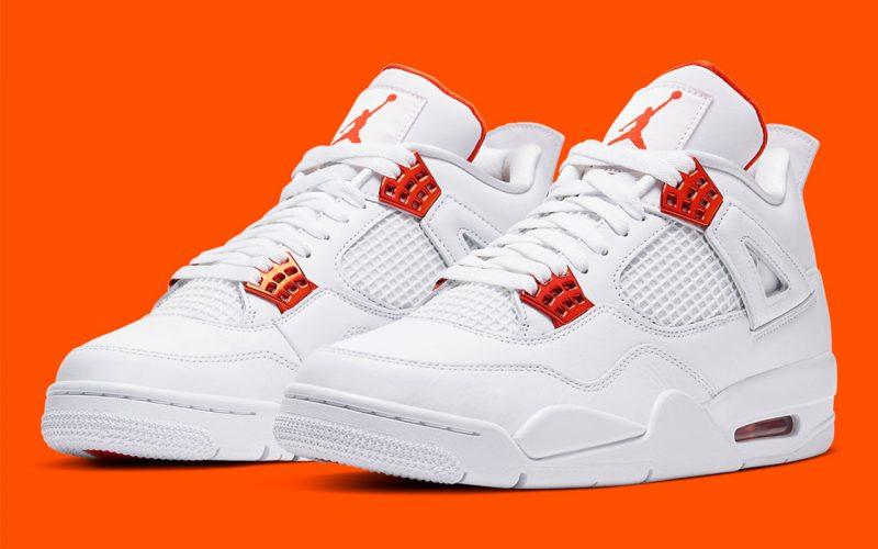 Air Jordan 4 ''Metallic Orange'' - CT8527-118