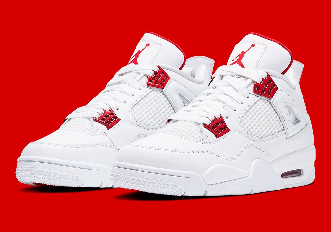 Air Jordan 4 ''Metallic Red''