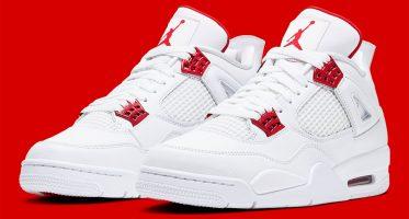 Air Jordan4 ''Metallic Red''
