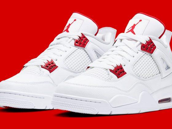 Air Jordan 4 ''Metallic Red'' - CT8527-112