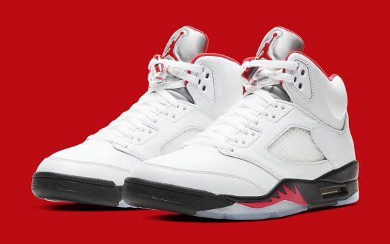Air Jordan 5 ''Fire Red'' - 2020 - DA1911-102