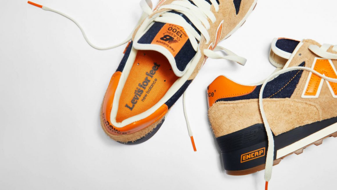Levi's x New Balance M1300LV ''Orange Tab''