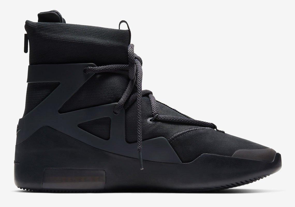 Nike Air Fear of God 1 ''Triple Black'' - AR4237-005